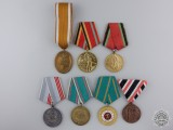 Seven European Medals & Awards
