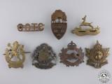 Seven Second War Canadian Badges