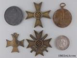 Six European Medals