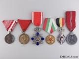Six European Medals & Awards