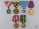 Six European Medals & Awards