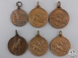 Six Republican Era Italian Medals & Awards