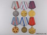 Six Socialist Medals
