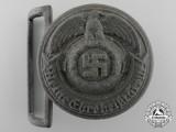 A Late War SS Officer's Belt Buckle