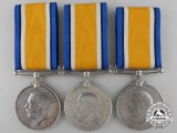 Three British War Medals to the Army
