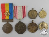 Six Romanian Medals and Awards
