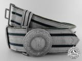 A German Army (Heer) Officer's Brocade Dress Belt with Buckle