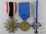Three Second War Period German Medals and Awards