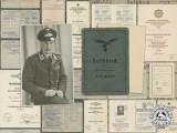 The Award Documents of Luftwaffe DKG Recipient Feldwebel Kämmerling