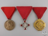 Three Austrian Decorations, Medals, and Awards