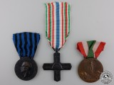 Three Italian Medals and Awards