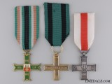 Three Second War Polish Medals