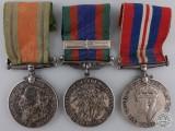 Three Second War Canadian Service Medals