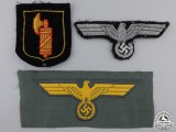 Three Second War German Insignia