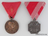 Two First War Austrian Medals