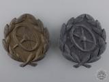 Two German Driver Proficiency Badges