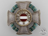 An Austrian Military Order of Maria Theresa; Grand Cross Star
