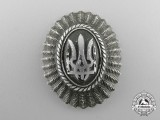 A Second War Ukrainian Cap Badge