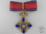 An Order of the Romanian Star; Commanders Neck Cross;
