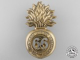 A Canadian Militia 66th Princess Louise Fusiliers Badge
