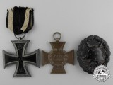 Three First War German Awards & Badges