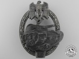 A Panzer Assault Badge Grade II; Unmarked JFS