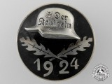 A 1924 Stahlhelm Badge