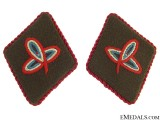 Ustasha Leaders Collar Tabs