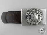 An Army Enlisted Man's Belt Buckle by DRANSFELD & Co MENDEN 1937
