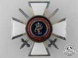 An Oldenburg Order of Duke Peter Friedrich Ludwig; Officer's Cross with Swords