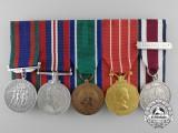 A Canadian Congo Service Medal Bar to Sergeant L.R.D. Gendreau