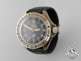 A Soviet Russian Komandirskie Made Soviet Tanker's Wrist Watch