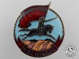 A Mongolian Medal of Khalkin Gol Breast Badge by Monetny Dvor