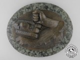 A 7th SS Volunteer Mountain Division Prinz Eugen Plaque by Oskar Witt