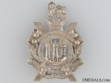 Victorian King's Own Scottish Borderers Glengarry Badge