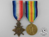 A First War Medal Pairing to Major F.W. Prendergast; Leinster Regiment
