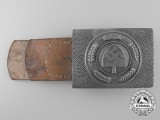 An RAD Enlisted Man's Belt Buckle by Julius Maurer Oberstein 1939