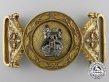 An Early George V General Service Belt Buckle