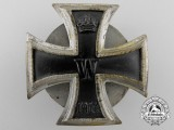 A First War Iron Cross 1st Class 1914; Screwback