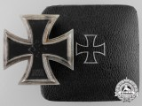 An Iron Cross First Class 1939 by Steinhauer & Lück with Case