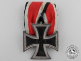 An Iron Cross Second Class 1939; Parade Mounted