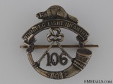 WWI 106th Winnipeg Light Infantry Cap Badge