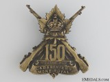 WWI 150th Infantry Battalion Cap Badge