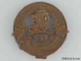 WWI 241st Infantry Battalion Glengarry Badge CEF