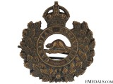 WWI Canadian Engineers General Service Cap Badge