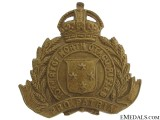 WWI NZ 10th North Otago Rifles Cap Badge