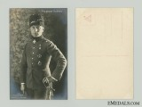 WWI Turkish Pilot Buddecke Picture Postcard
