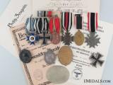 First War Awards & Documents to Major Friedrich Lautenschlager