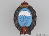 WWII Bulgarian Paratrooper's Badge