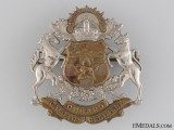 WWII Calgary Regiment (Tank) Cap Badge